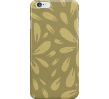 blossom (gold) iPhone Case/Skin