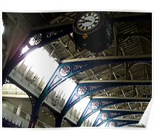 Smithfield Market (looking up) Poster