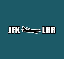 JFK to LHR  by jerasky