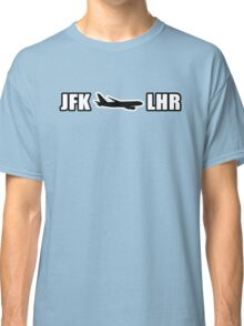 JFK to LHR  Classic T-Shirt