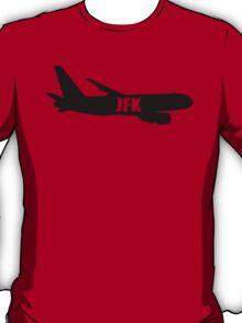 JFK airplane T-Shirt