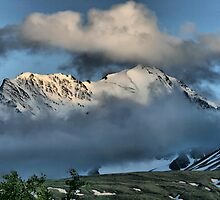 From the Top of Chilkat Pass, British Columbia, Canada by Vickie Emms