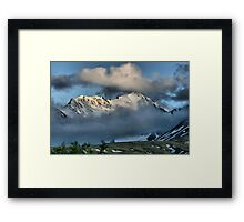 From the Top of Chilkat Pass, British Columbia, Canada Framed Print