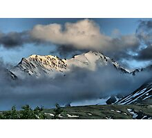 From the Top of Chilkat Pass, British Columbia, Canada Photographic Print
