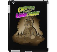 Creature from the Bleurgh Lagoon - in Sepiatone iPad Case/Skin