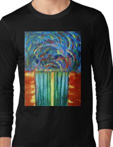 The Curtain of Mysteries Long Sleeve T-Shirt
