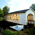 Gilkey Covered Bridge by Heather Parsons