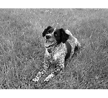 Precious in Black and White Photographic Print