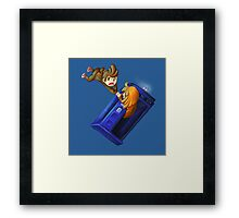 The the adventure! Framed Print