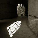 Krumlov Castle Light by ragman