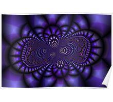 Abstract fractal artwork Poster
