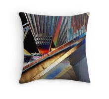Exoskeleton Throw Pillow