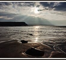 evening capture of my number 1 beach in county clare, lahinch  beach , lehinch, county clare, ireland. cliffs of moher in the very far distance. ireland. by upthebanner