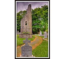 celtic moument burial ground, county clare, ireland. Photographic Print