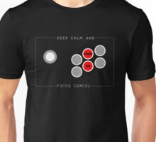 Focus Cancel Unisex T-Shirt