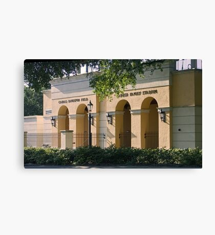Sandspur Stadium Canvas Print