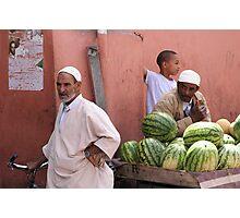 Maroc Photographic Print