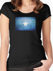 Somalia - Vintage Women's Fitted Scoop T-Shirt