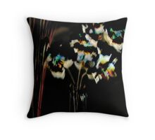 'Flowers in Vase' Throw Pillow