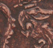 Sobek in Leather Sticker