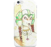 Danu, Princess of The Faein Court iPhone Case/Skin