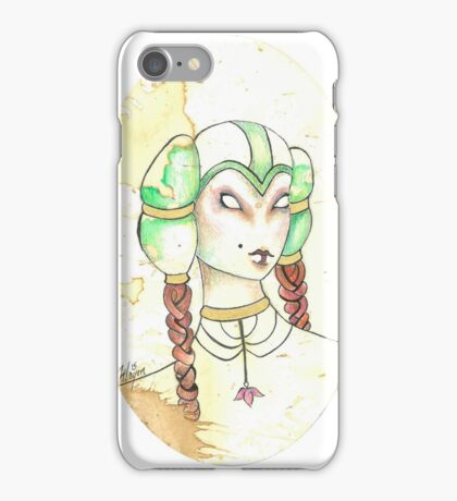 Danu, Princess of The Faein Court iPhone Case/Skin