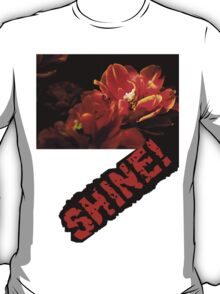 Red tulips dark background T-Shirt