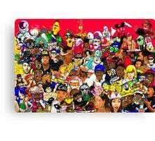 Millennium Collage Canvas Print