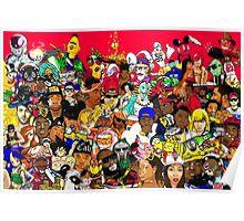 Millennium Collage Poster