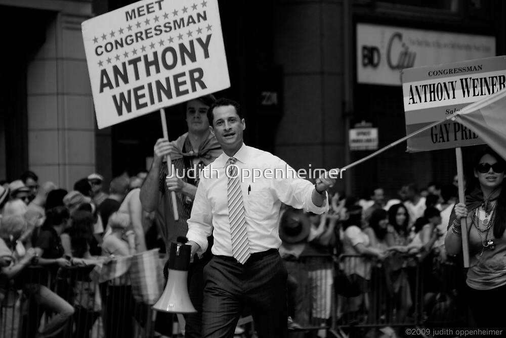 Meet Congressman Anthony Weiner, Gay Pride, June 2009 by Judith Oppenheimer