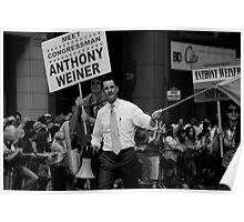 Meet Congressman Anthony Weiner, Gay Pride, June 2009 Poster