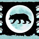 Bear in the Moon by Jan Landers