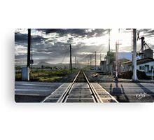 Rails to Paradise Canvas Print