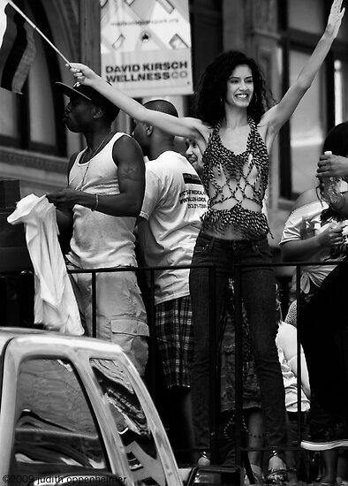 Callen-Lorde Float, Gay Pride, New York 2009 by Judith Oppenheimer