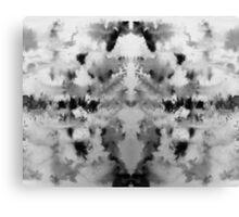 Monochrome brusho print Canvas Print