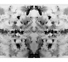 Monochrome brusho print Photographic Print