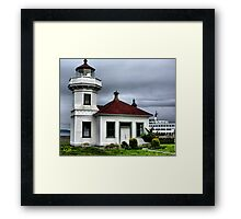 Mukilteo Lighthouse Two Framed Print