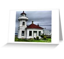 Mukilteo Lighthouse Two Greeting Card