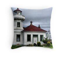 Mukilteo Lighthouse Two Throw Pillow