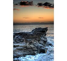 Cliff Face Photographic Print