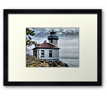 Lime Kiln Lighthouse Framed Print