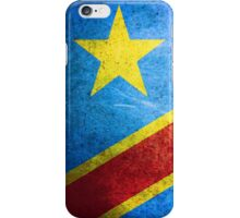 Democratic Republic of the Congo - Vintage iPhone Case/Skin