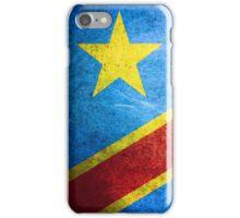 Democratic Republic of the Congo - Vintage iPhone Case/Skin