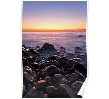 Point Judith Summer Twilight Poster