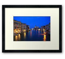 Grand Canal at Dusk Framed Print