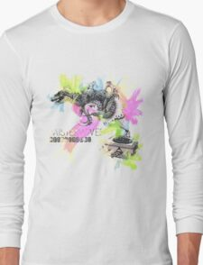 Misterwives Watercolor Long Sleeve T-Shirt