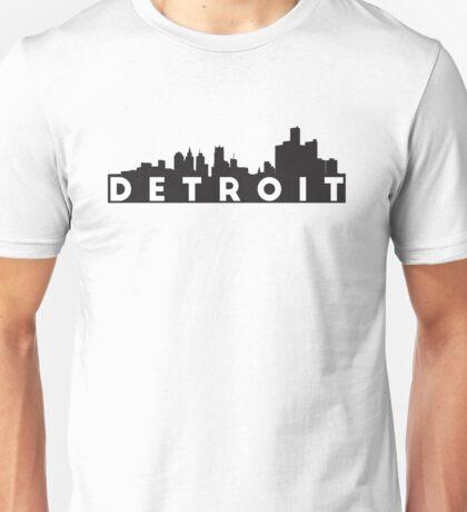 Detroit Skyline Unisex T-Shirt