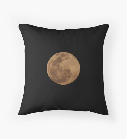 Botswana Moon Throw Pillow