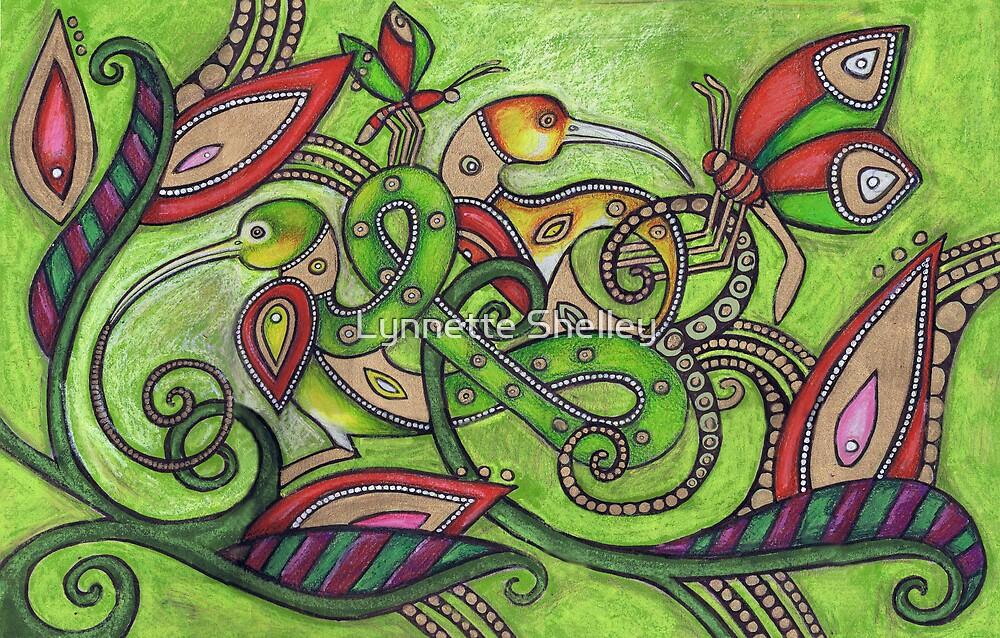 The Garden by Lynnette Shelley