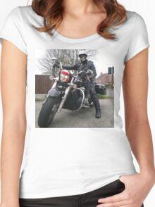Skeggy Cruiser no lettering Women's Fitted Scoop T-Shirt